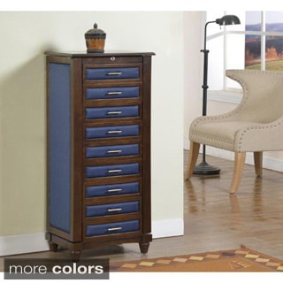 Louis 7 Drawer Locking Jewelry Armoire 14123175