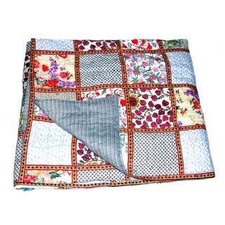 Rust Patchwork Quilt Set Guatemala 932418 Overstock