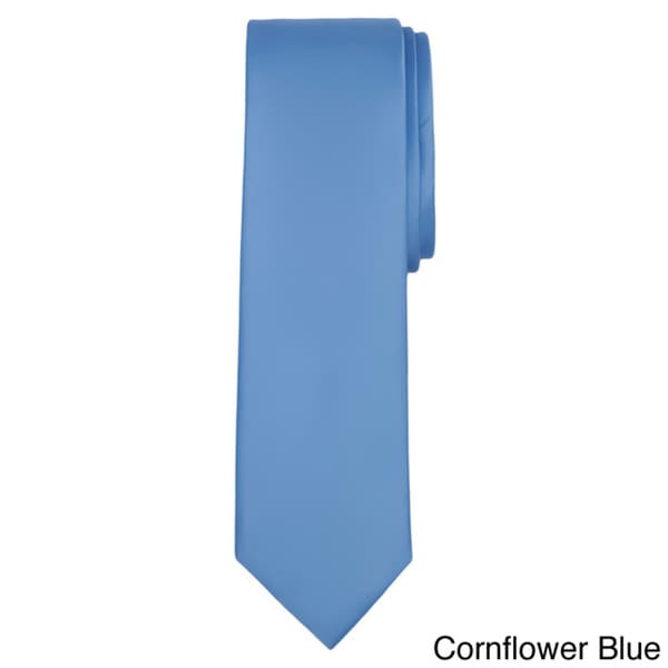 Jacob alexander solid color mens slim tie 63432f9f ec54 45c2 a1b5 c47398cf2530 600
