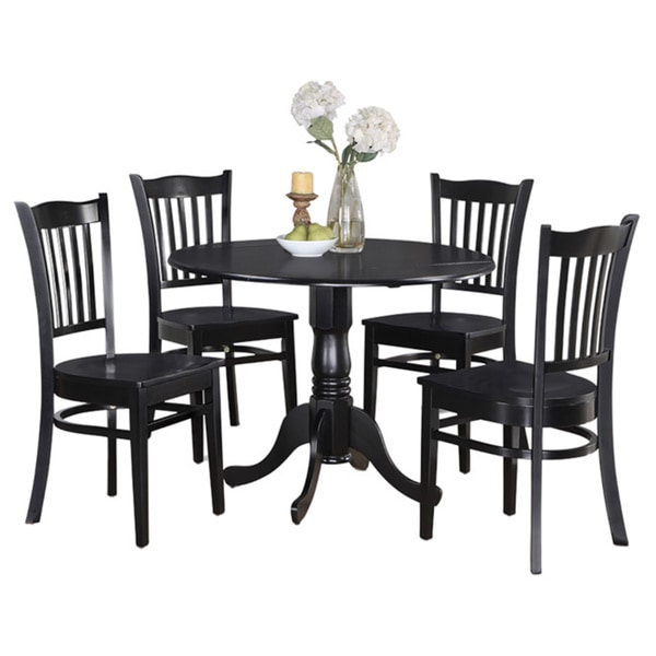 Table And 4 Kitchen Chairs 5-piece Dining Set