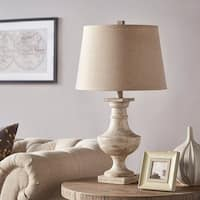Hyperion Textured Off-white 1-light Accent Table Lamp by iNSPIRE Q Artisan