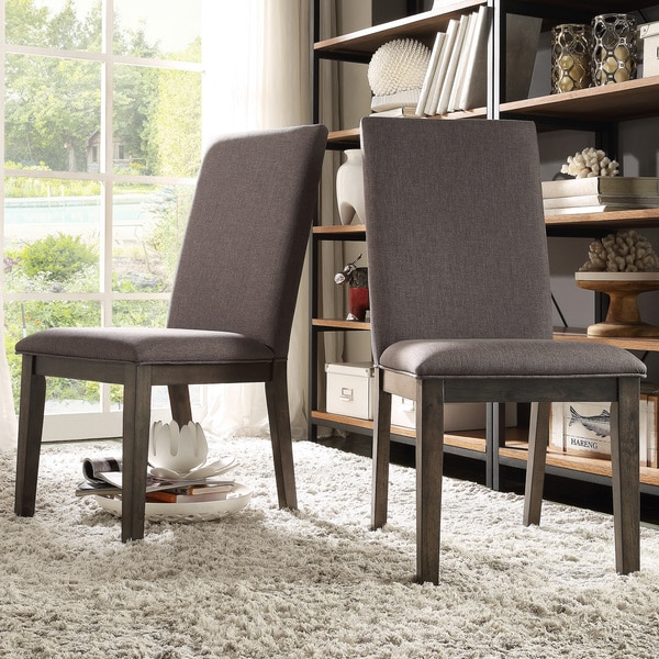 TRIBECCA HOME Ridgefield Industrial Weathered Upholstered