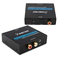 Insten Digital Optical Toslink to Analog with 3.5mm Audio Converter