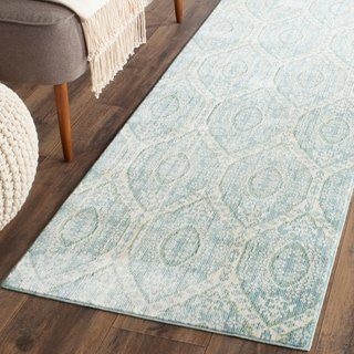 Safavieh Handmade Chatham Mystic Blue New Zealand Wool Rug
