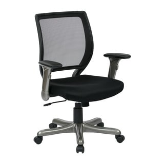 Basyx By Hon Vl103 Series Mid Back Leather Executive Chair