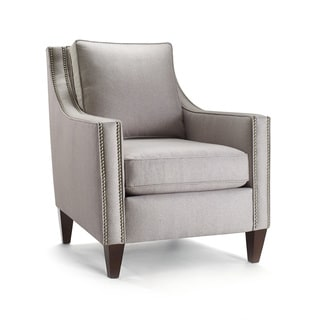 Hartley Perfect Gray Accent Chair 17343519 Overstock