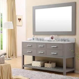 Double vanities bathroom vanities vanity cabinets - 52 inch double sink bathroom vanity ...