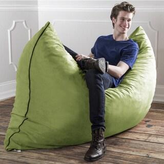 5 Foot Memory Foam Micro Suede Beanbag Chair Lounger