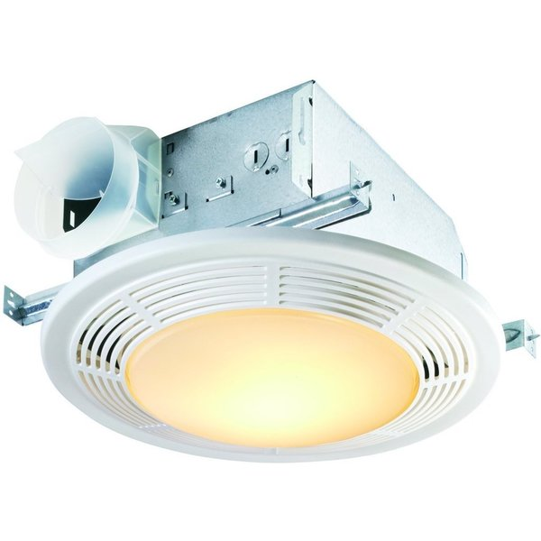 Broan Nutone 100 CFM Ceiling Fan-light (no Night-light ...