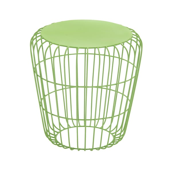 Round Wire Side Table Green 17346838 Overstock Com