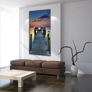 Robin Renee Hix Orange Beachwalk Framed Art Print