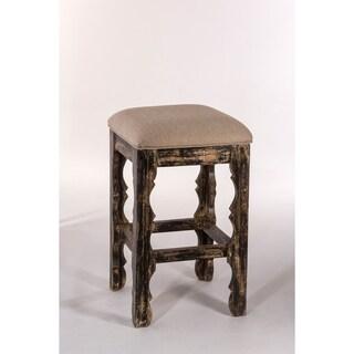 Ridged Leg Upholstered Bar Stool 16595491 Overstock