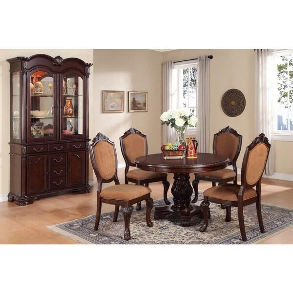 Hillsdale Furniture Bennington 5pc Dining Room Set In: Charleston Round 5-piece Dining Set