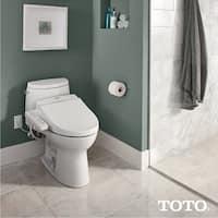 Toto Washlet C100 Elongated Bidet Toilet Seat with PreMist SW2034#01 Cotton White