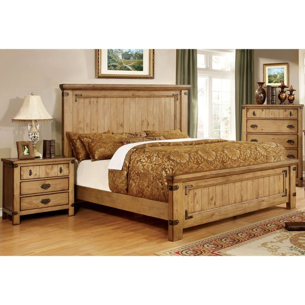 Country Bedroom Sets: Furniture Of America Sierren Country Style 2-piece Bedroom Set