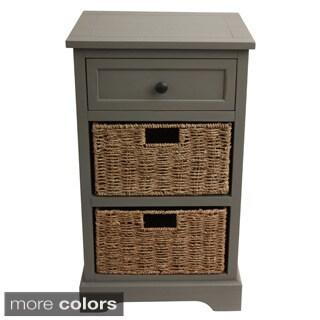 Rattan 2 Drawer File Cabinet 12139203 Overstock Com