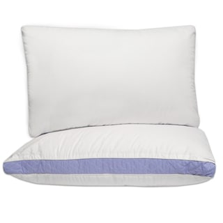 Swisslux Gusseted Density Pillows Set Of 2 15671459