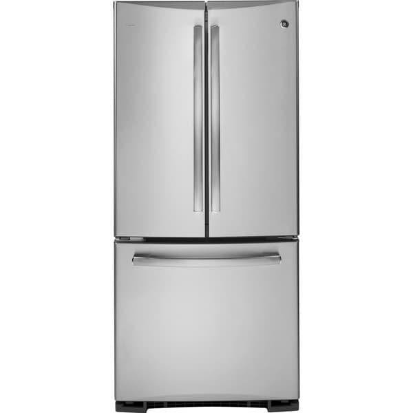 French Door Refrigerator Ge 22 Cubic Foot Refrigerator