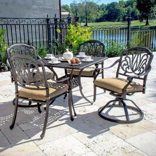 Lakeview Outdoor Designs Rosedown Cast Aluminum 6 Person
