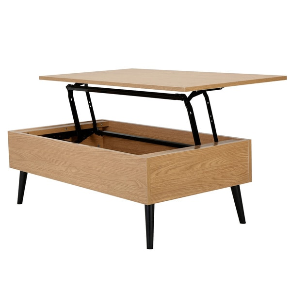 Christopher Knight Home Elliot Wood Lift Top Storage