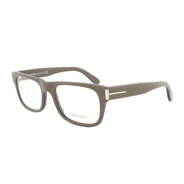 47578457ffd4 Tom Ford FT5274 090 Taupe Rectangular Eyeglass Frames Size 52 on ...