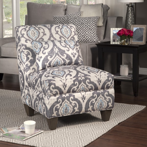 Homepop Blue Slate Large Accent Chair 17409376
