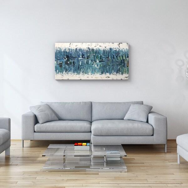 Carmen Guedez Blue Nile 24x48 Canvas Wall Art 17410420