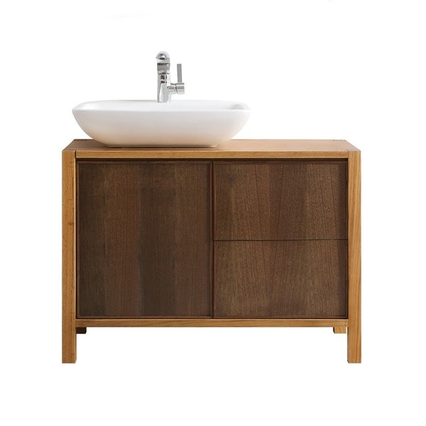 Vinnova Monza 40-inch American Red Oak Single Vanity With