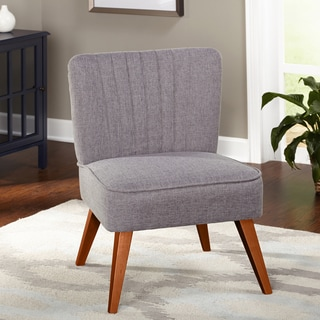 Safavieh Bell Grey Taupe Cotton Blend Vanity Chair