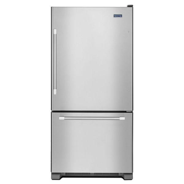 Maytag 30 Inch 18 5 Cu Ft Bottom Freezer Refrigerator