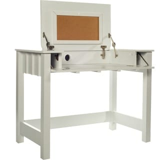 Unfinished Solid Parawood Vanity Table 16445522
