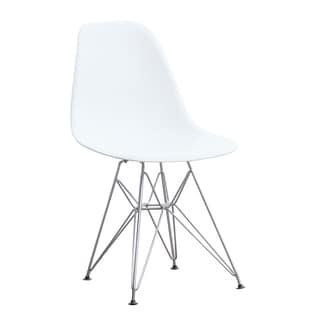 Paris Wire White Arm Chair 14230718 Overstock Com