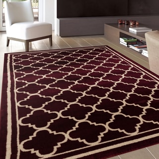 Burgundy 5x8 6x9 Rugs Overstock Com The Best Prices