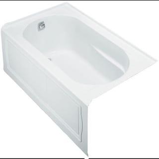 Meditub 54 Inch Lefthand White Walk In Combo Tub