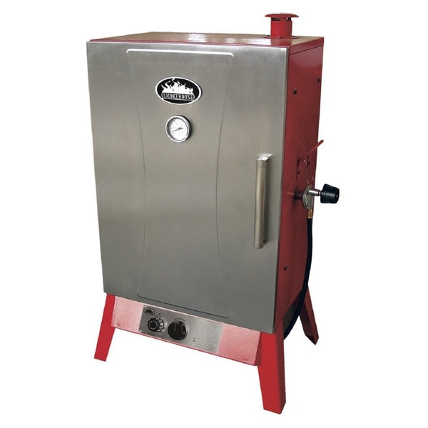 Smokehouse Wide Gas Smoker Cooker 17427872 Overstock