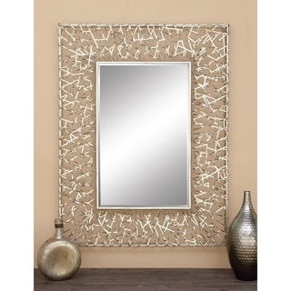 Uttermost Makura Beveled Mirror Framed Mirror 14072958
