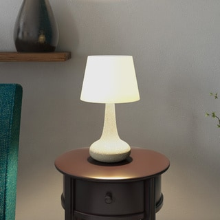 Shelby 20 Inch Smoked Glass Finish Table Lamp 14179423