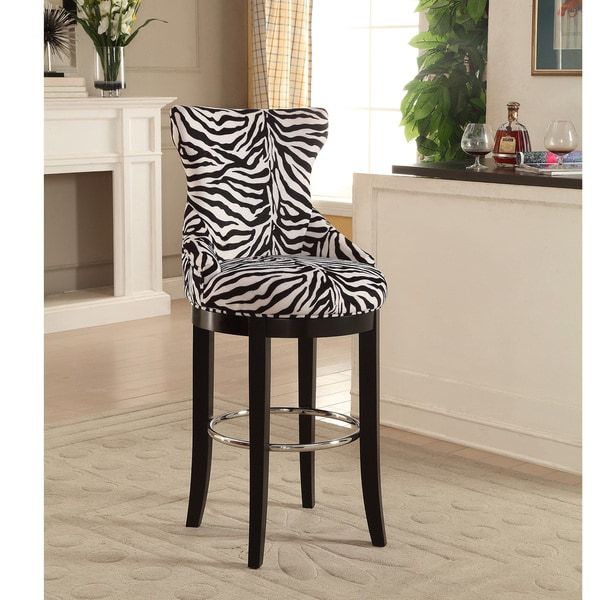 Peace Modern And Contemporary Zebra Print Patterned Fabric