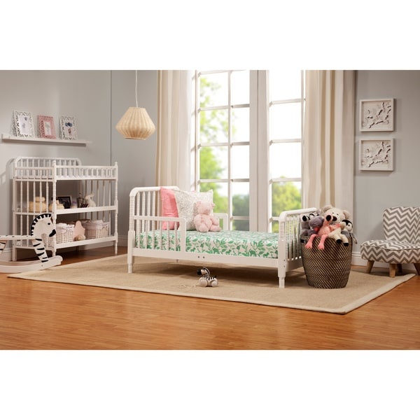 Toddler Bed Offers: DaVinci Jenny Lind Toddler Bed In White Finish