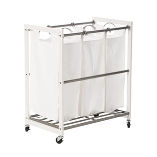 Luxor Heavy Duty Rolling Industrial Laundry Storage Cart