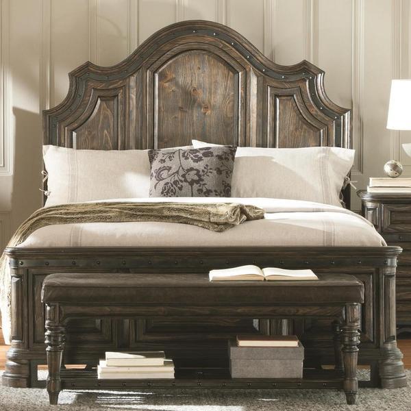 Greyson Living Laguna Antique White Panel Bed 6piece: Armada 3 Piece Bedroom Set