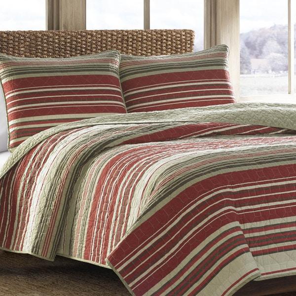 Eddie Bauer Yakima Valley Red 3 Piece Quilt Set 17450010