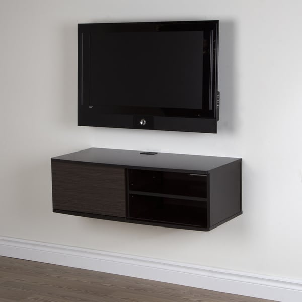 South Shore Agora 38 Inch Wall Mounted Media Console