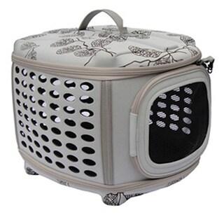 Espresso Furniture Style Dog Crate 12489415 Overstock