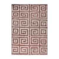 Herat Oriental Afghan Hand-knotted Tribal Vegetable Dye Gabbeh Wool Rug - 6'9 x 9'8