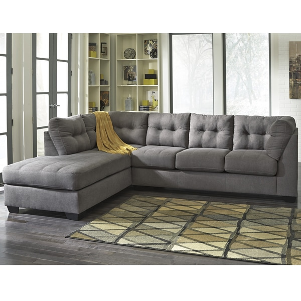 Benchcraft Maier Microfiber Sectional With Left Side