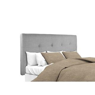 Safavieh Axel Arctic Grey Upholstered Tufted Headboard
