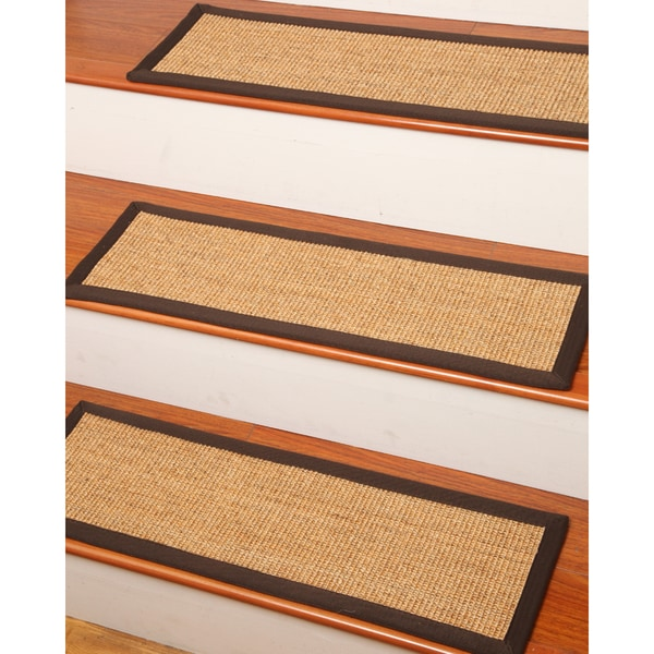 Natural Area Rugs Montreal Sisal Carpet Stair Treads 9 Quot X