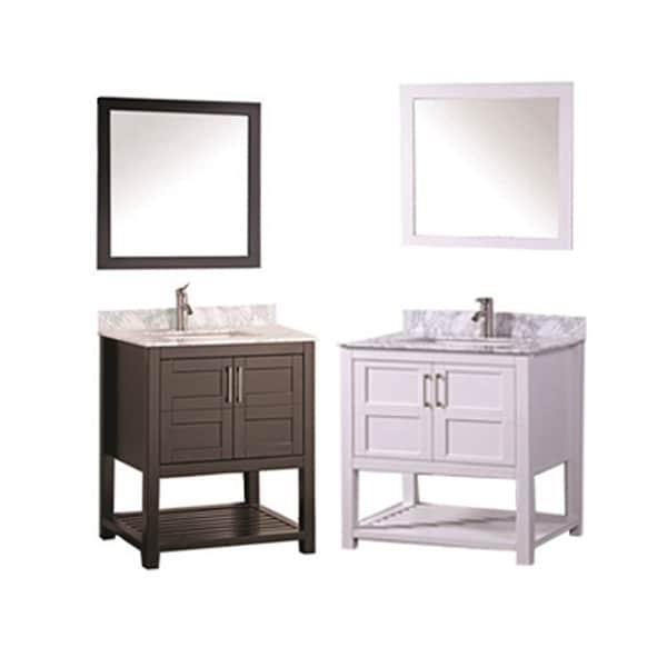 MTD Vanities Norway 30-inch Single Sink Bathroom Vanity ...