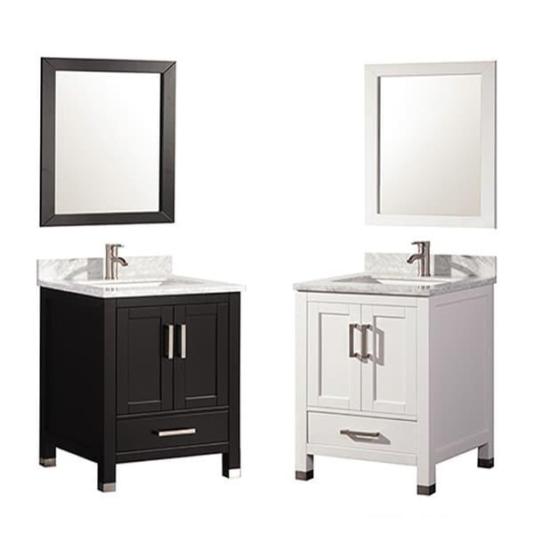 Bathroom Vanity 24 Inches Wide: MTD Vanities Ricca 24-inch Single Sink Bathroom Vanity Set